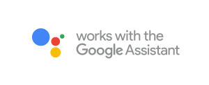 works with the Google Assistant badge_horizontal